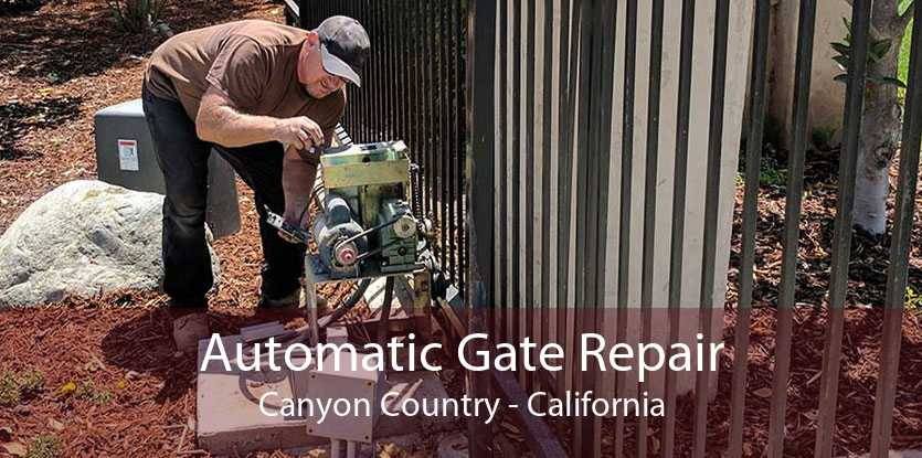 Automatic Gate Repair Canyon Country - California